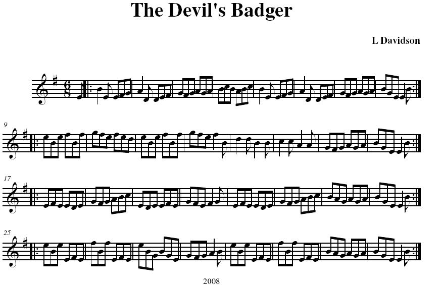 The Devil's Badger
